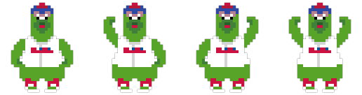 The Phillie Phanatic (Philadelphia Phillies)